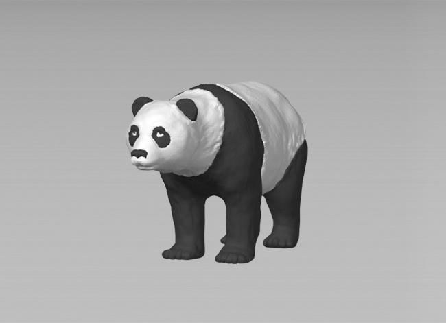 3D打印之熊猫